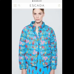 ESCADA Sport, brand new printed jacket